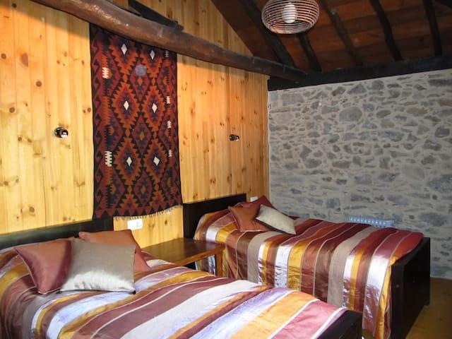 Miller's twin bedroom