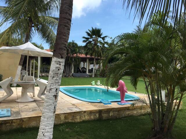 Linda Casa de Praia no Icaraí-CE - Caucaia - Huis