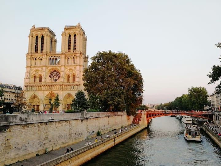 ❤️❤️❤️Studio 35m² Notre Dame/St Michel