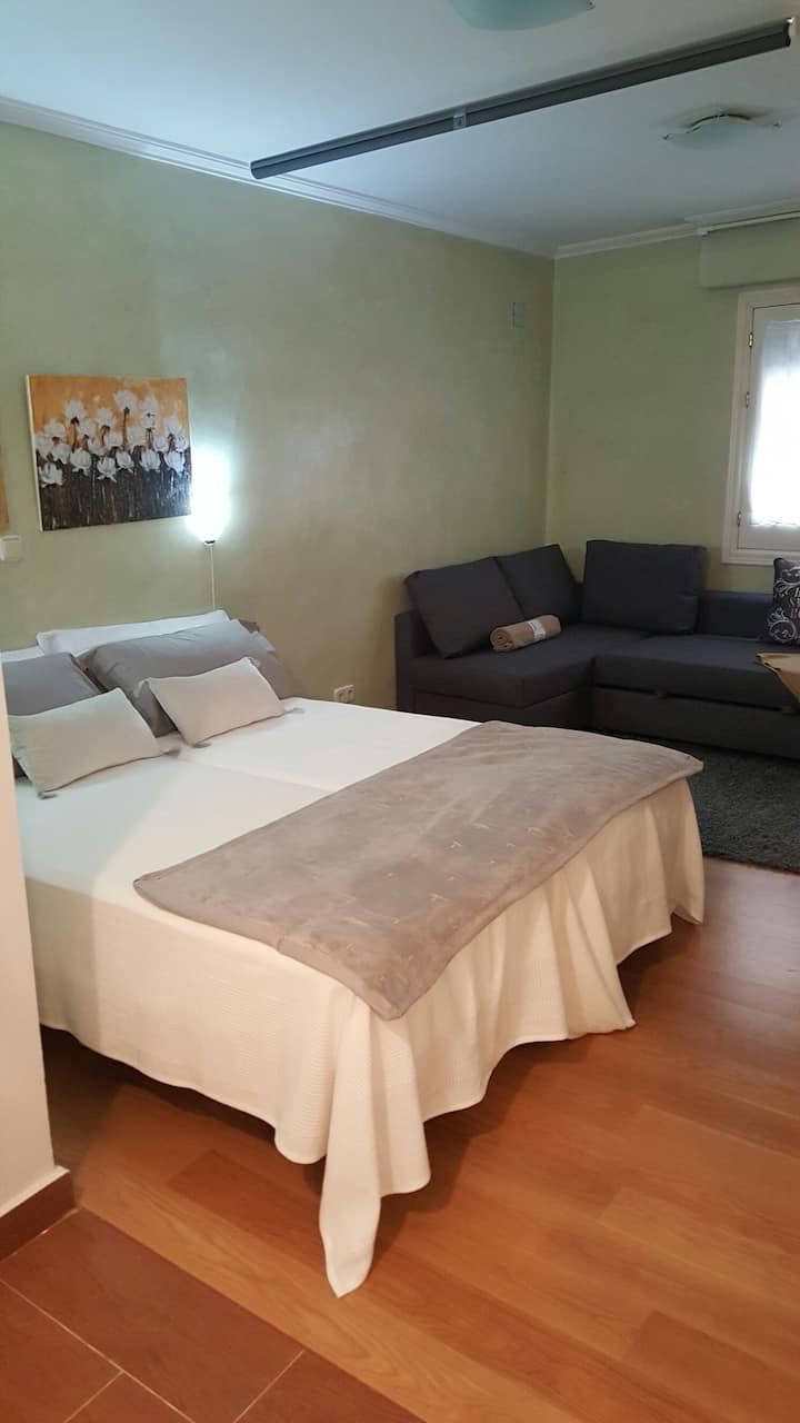 Ideal apartamento en corazón de Sevilla.