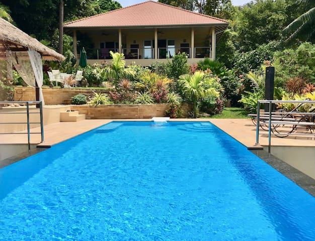 Great villa 2 br swimming pool sea view Haad Salad