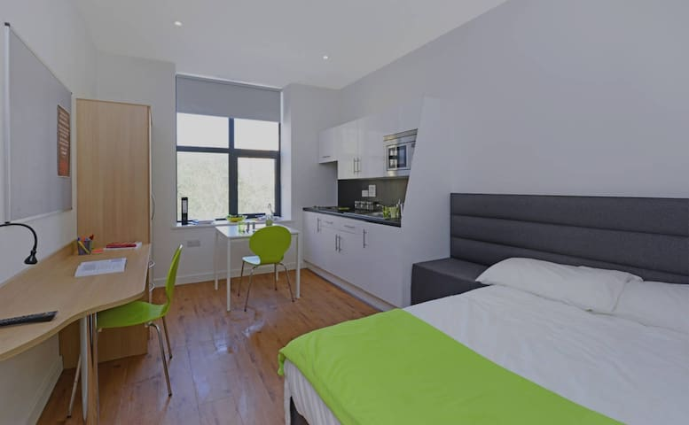 Luxury Studios near University (No.4) - Huddersfield - Apartament