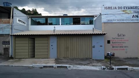 Casa individual  com Garagem próx Petrobrás e Fiat
