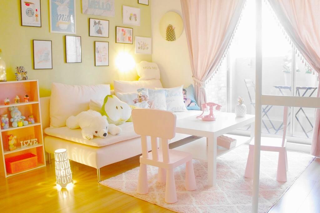 ❤OsakaNamba/station~2min/New open『Pink』cute room