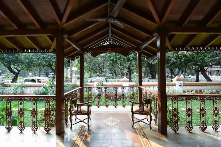 A luxury heritage Goan Boutique villa in Panjim