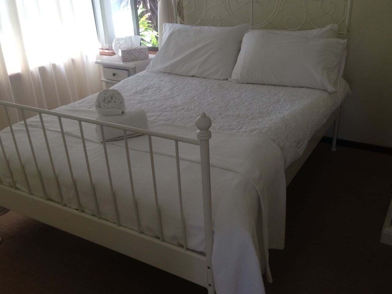 Guests will be accommodated in one of three double bedrooms of similar size and quality. Subject to availability, guests may request to change rooms for their preferred outlook.