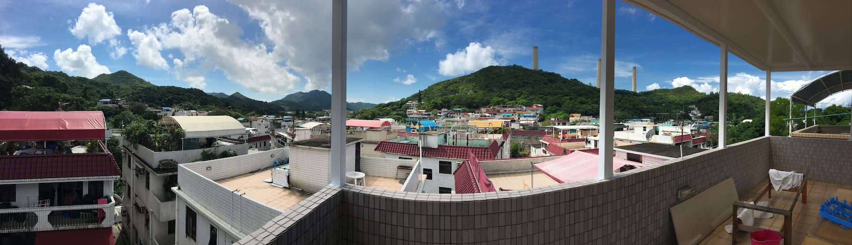 Large 2BR apartment with PRIVATE ROOFTOP on Lamma! - Hong Kong