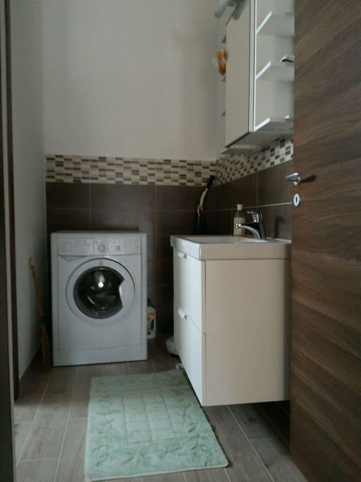 antibagno/lavanderia