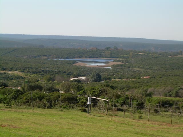 Family room with a lake view - Uitenhage - Guesthouse