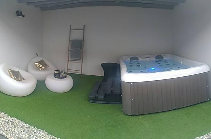 Location de charme pour couple spa et sauna privés