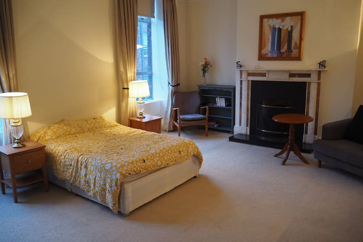 Lovely double room in the city center