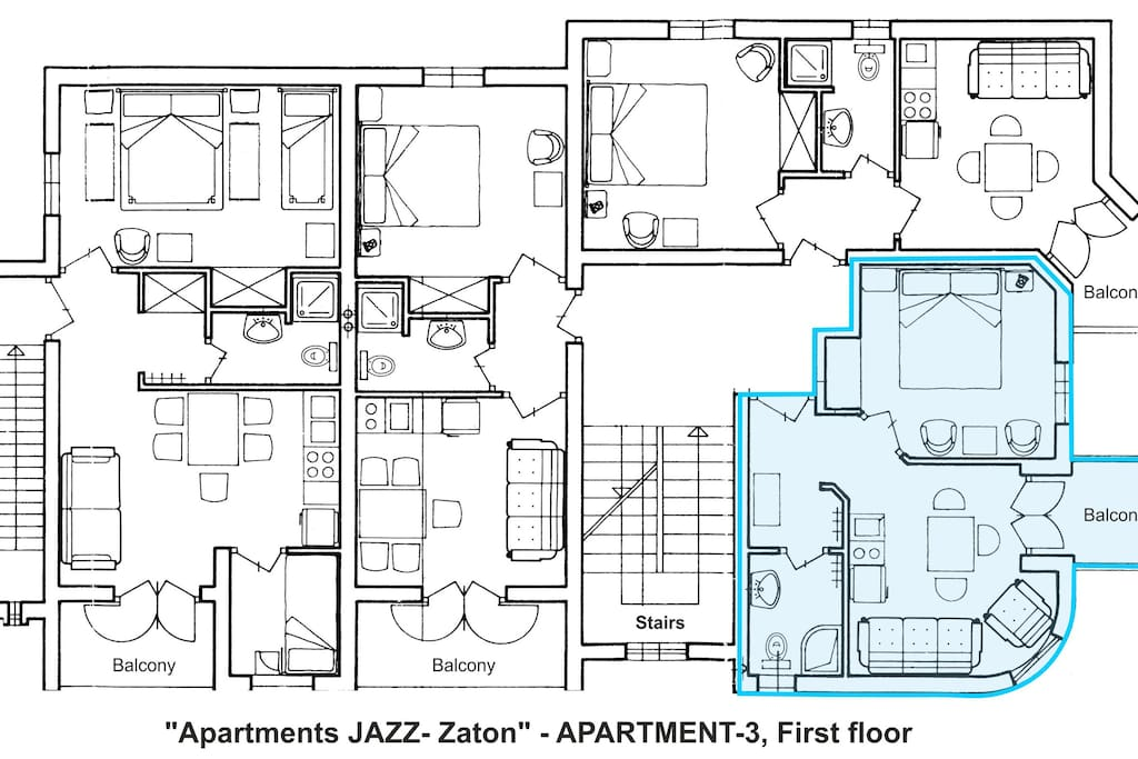 Apartment A3-Layout