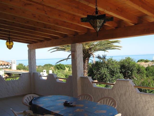 Villa with wonderful sea view