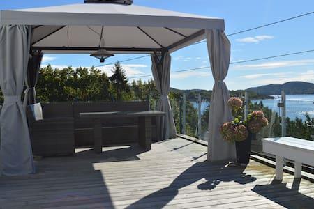 Hytte med fantastisk sjøutsikt på Bjønnes - Porsgrunn