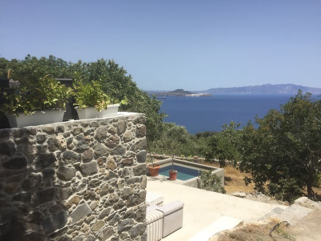 My Old Stone House.  Sea Views. 3 000 sqm garden