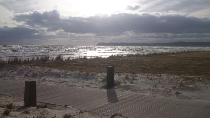 Einzelnes Ferienhaus im Seebad Prora auf Rügen