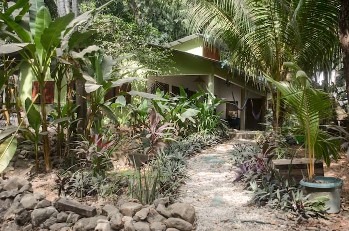 Art Garden Studio just infront of the beach path