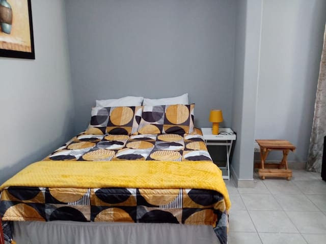 1 double bed,