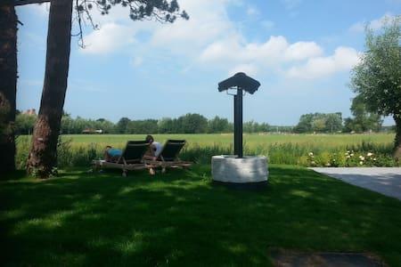 Knokke le Zoutte/cottage avec vue sur les polders - Knokke-Heist - Haus