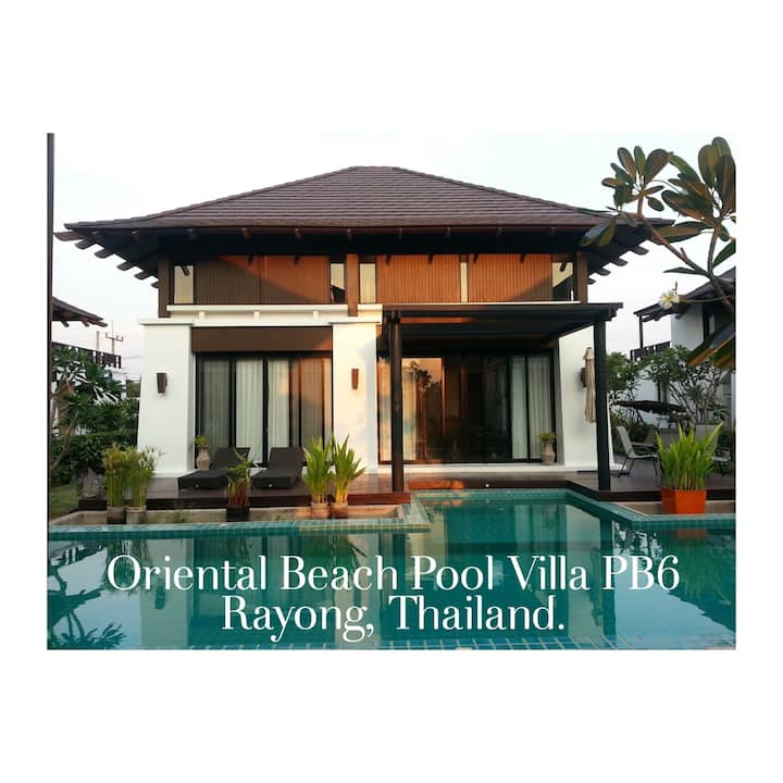 Pool Villa house and Private Long Beach Rayong