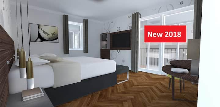Villa Special: Deluxe Double Room with balcony