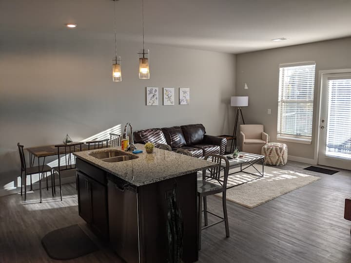 Enjoy private balcony w spacious and secluded 2BR