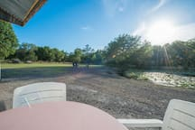 Man cave is located on 25 acres along with several other Airbnb rental venues we have.