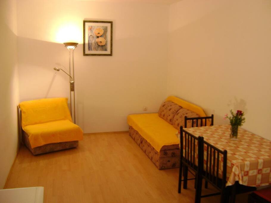 Dining room, Surface: 12 m²