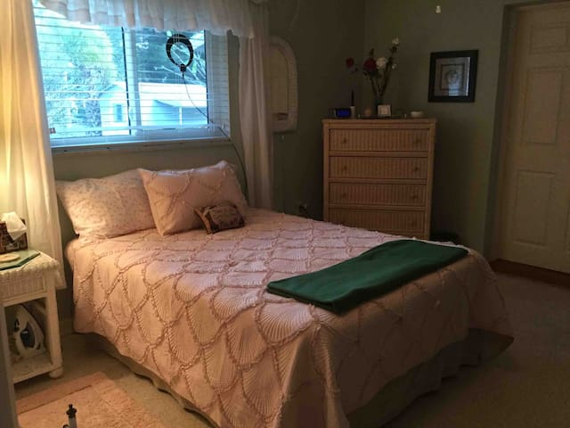 Private 2 bedrooms with full bath  between