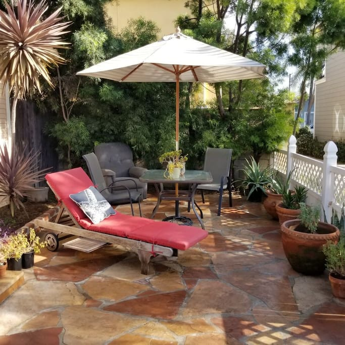 front yard patio