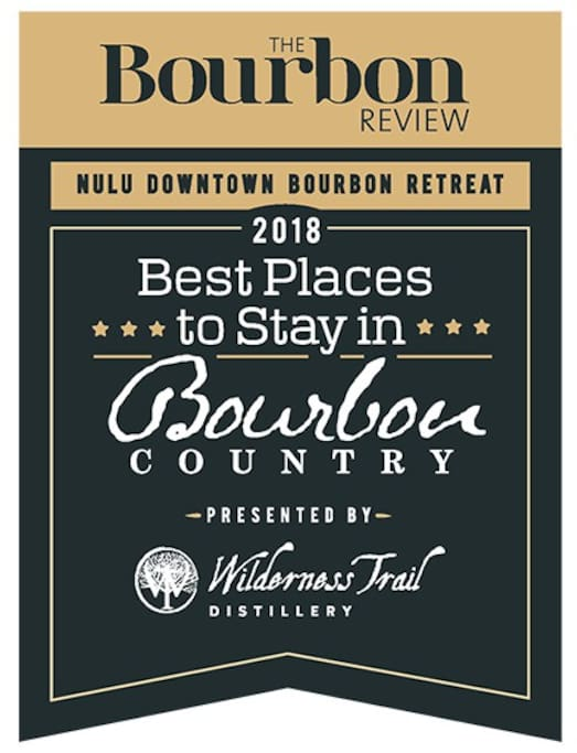 Voted one of the top 40 places to stay in Bourbon Country by The Bourbon Review magazine!