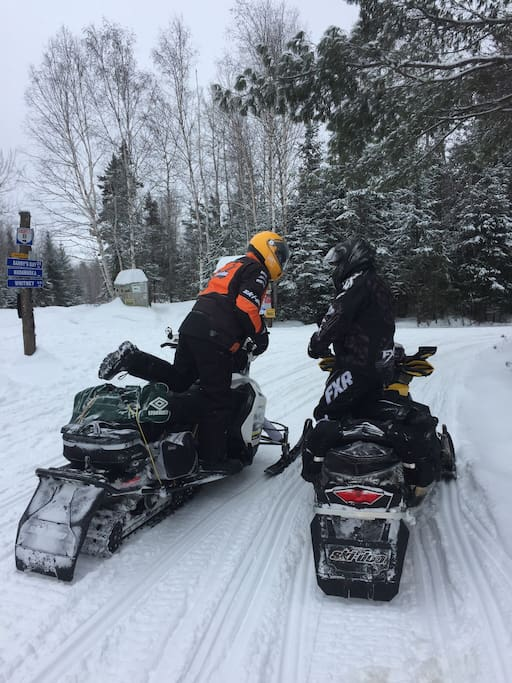Snowmobilers delight - property is on Trail 55 maintained by Hill and Gully, District 7 OFSCA