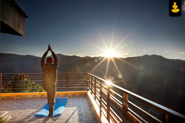 Mountain-view| Serene| Archery| Bird-watching|Yoga