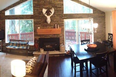Riverfront retreat in Mt. Hood - Mount Hood Village - Casa