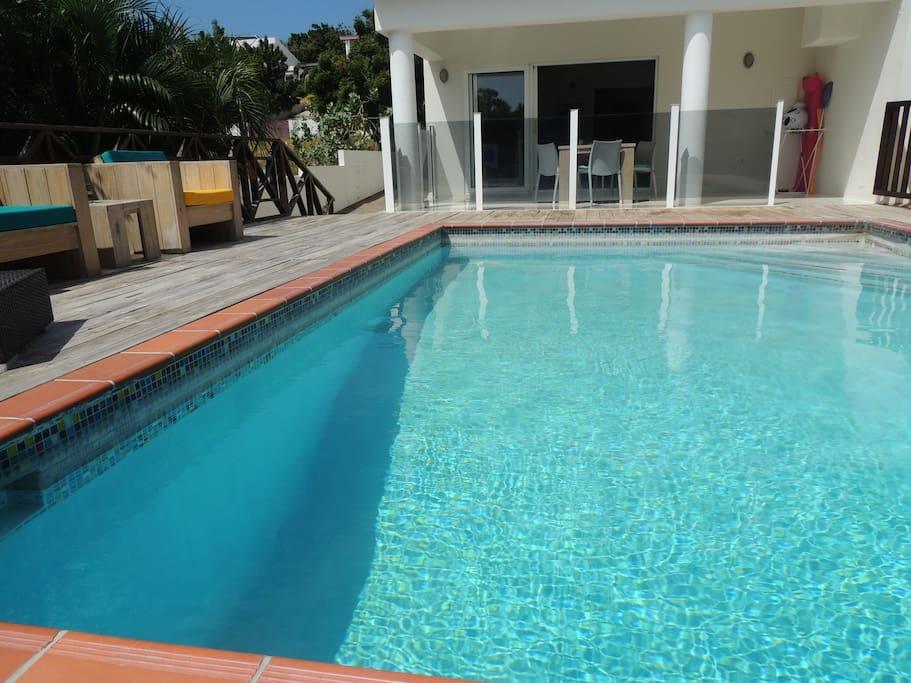 Eigen privé zwembad
