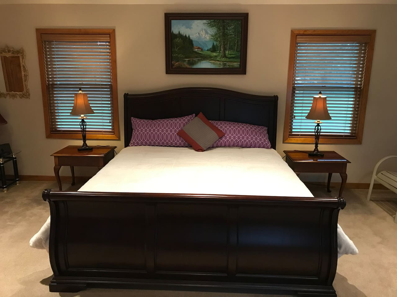 King size bed - Very comfortable
