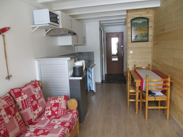 LB205 - Nice one-bedroom apartment close to the slopes - LES GETS - Lägenhet
