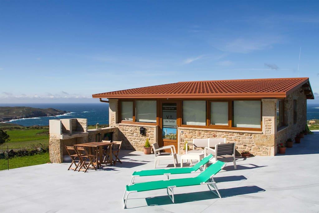Casa cabo touri an casas de campo en alquiler en - Casas de campo en galicia ...
