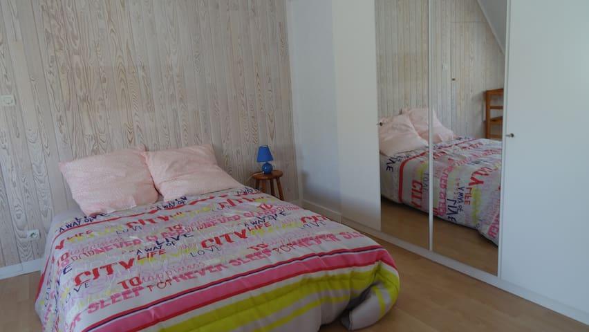 Chambre double proche centre ville - Plouguerneau - Hus
