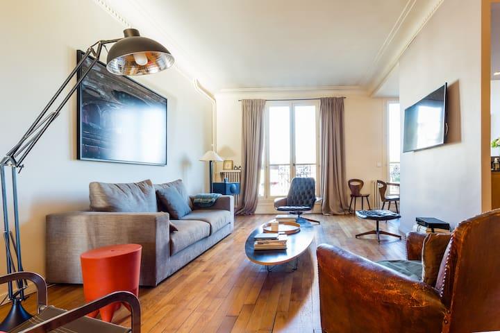 Superbe Appart/Loft Parisien, 110m2