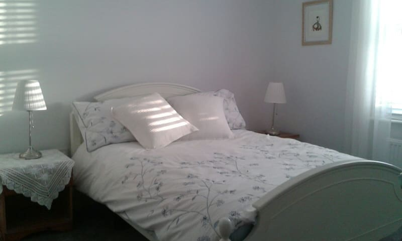 Double room in a newly renovated  apartment.