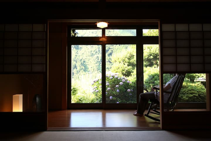 [MAX16名]神河町の自然豊かな古民家宿 星と風の庭