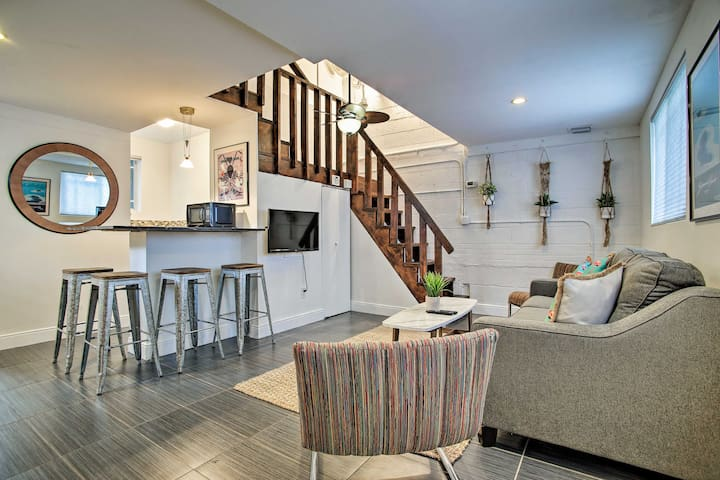 NEW! Stylish Loft w/ Patio, Near Downtown & Beach!
