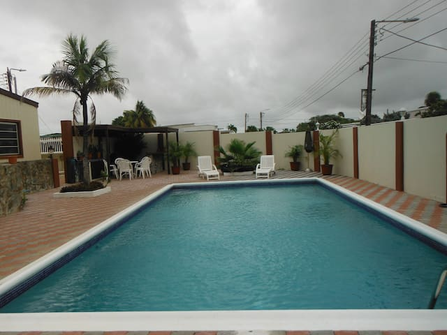 Vacation Home! Big Pool Area! Beaches&Center Near! - Oranjestad - Ev