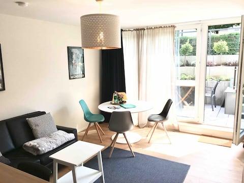 Wunderschöne 2 Zimmer-Wohnung mit Sonnenterrasse