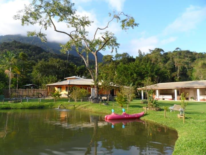 Casa de campo em Bracuí-Angra dos Reis