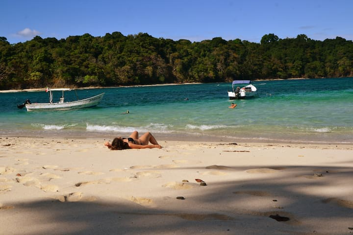 Our activities have been created to enjoy the beach and the forest to their maximum extent.