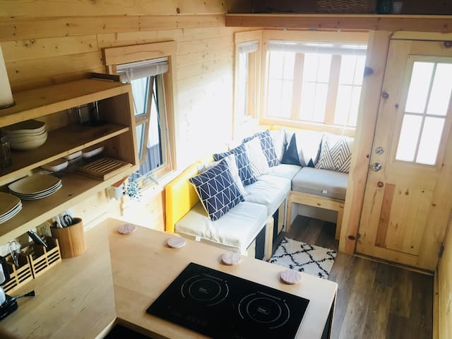 Snuggle up in a Tiny Home on a Farm