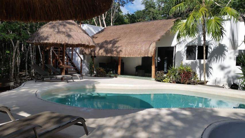 Pura Vida Cancun - Private bedroom in the jungle - Cancún - Konukevi