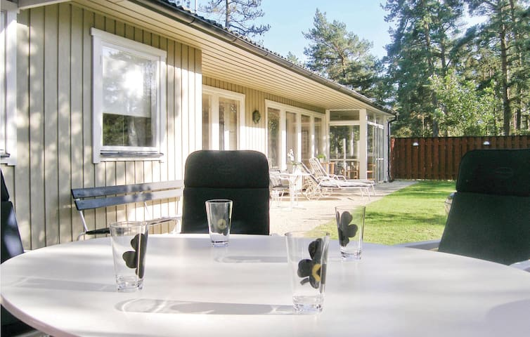 Holiday cottage with 4 bedrooms on 100 m² in Yngsjö